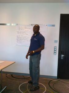 Presenting feedback